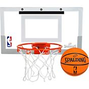 Spalding NBA Slam Jam Mini Basketball Hoop Set