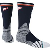 Stance Oklahoma City Thunder On Court Logo Crew Socks