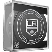 Sher-Wood Los Angeles Kings Official Game Puck