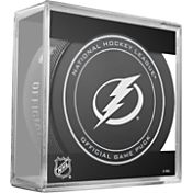 Sher-Wood Tampa Bay Lightning Official Game Puck
