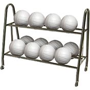 Tandem Volleyball/Basketball Ultimate Ball Rack