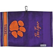 Team Effort Clemson Tigers Jacquard Golf Towel
