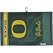 Team Effort Oregon Ducks Jacquard Golf Towel