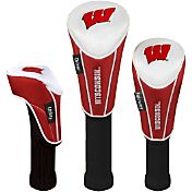 Team Effort Wisconsin Badgers Headcovers - 3-Pack