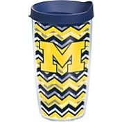 Tervis Michigan Wolverines Clear Chevron 16oz Tumbler