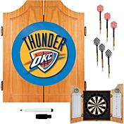 Trademark Games Oklahoma City Thunder Dart Cabinet