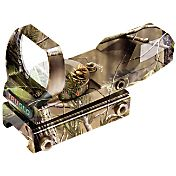 TRUGLO Open Dual Color Red Dot Sight - Realtree APG