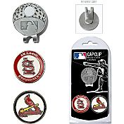 Team Golf St. Louis Cardinals Cap Clip and Marker Set
