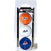 Team Golf New York Mets Golf Balls - 3-Pack