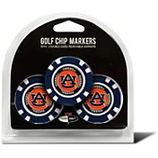 Team Golf Auburn Tigers Poker Chips Ball Markers - 3-Pack