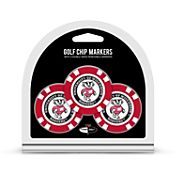 Team Golf Wisconsin Badgers Poker Chips Ball Markers - 3-Pack