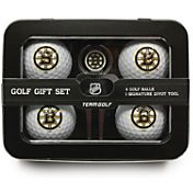 Team Golf Boston Bruins 4-Ball Tin Set