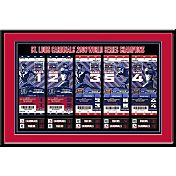 That's My Ticket St. Louis Cardinals 2006 World Series Framed Printed Ticket Collection