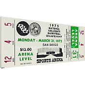 That's My Ticket UCLA Bruins 1975 NCAA Basketball Finals Canvas Mega Ticket