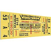 That's My Ticket Boston Bruins Bobby Orr First Game Ticket