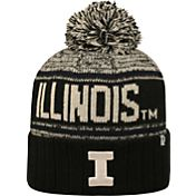 Top of the World Men's Illinois Fighting Illini Blue/White Acid Rain Knit Beanie