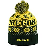 Top of the World Men's Oregon Ducks/Yellow Green Sub Arctic Knit Beanie