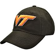 Top of the World Men's Virginia Tech Hokies Black Crew Adjustable Hat