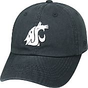 Top of the World Men's Washington State Cougars Black Crew Adjustable Hat