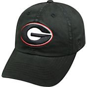 Top of the World Youth Georgia Bulldogs Black Crew Adjustable Hat
