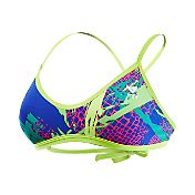 TYR Women's Paseo Cross Cut Fit Tie Back Swimsuit Top