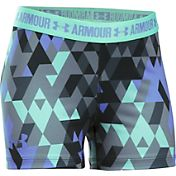 Under Armour Girls' 3'' Printed Armour Shorts