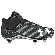 Under Armour Men's C1N Mid D Football Cleats