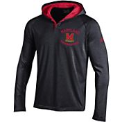 Under Armour Men's Cincinnati Bearcats Black Long Sleeve Hooded Shirt
