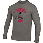 Under Armour Men's Cincinnati Bearcats Grey Tri-Blend Long Sleeve T-Shirt