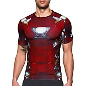 Under Armour Men's Alter Ego Iron Man Compression T-Shirt