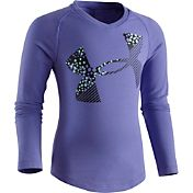 Under Armour Toddler Girls' Galaxy Cropped Logo Long Sleeve Shirt