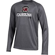 Under Armour Youth South Carolina Gamecocks Grey Long Sleeve Tech Performance T-Shirt