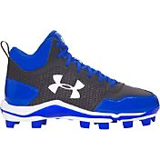 Under Armour Kids' Heater Mid TPU Baseball Cleats