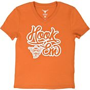 University of Texas Authentic Apparel Girls' Texas Longhorns Burnt Orange Mel T-Shirt