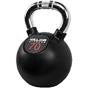 Valor Fitness 70 lb. Chrome Kettlebell