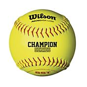 Wilson 12'' ASA Fastpitch Softballs - 12 Pack
