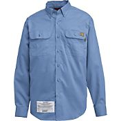 Wolverine Men's Flame Resistant Ripstop Long Sleeve Shirt