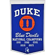 Duke Blue Devils Basketball National Champions Banner