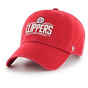 '47 Men's Los Angeles Clippers Red Clean-Up Adjustable Hat