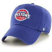 '47 Men's Detroit Pistons Royal Clean-Up Adjustable Hat