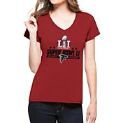 '47 Women's Super Bowl LI Bound Atlanta Falcons Splitter Red T-Shirt