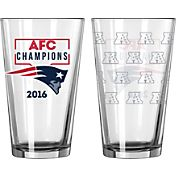 Boelter AFC Champions New England Patriots 16oz. Pint
