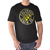 G-III Men's Columbus Crew Logo Black T-Shirt