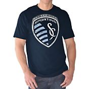 G-III Men's Sporting KC Logo Navy T-Shirt