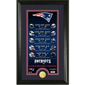Highland Mint 5-Time Super Bowl Champions New England Patriots 'Legacy' Supreme Bronze Coin Photo Mint
