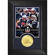 Highland Mint Super Bowl LI Champions New England Patriots Bronze Coin Mini Photo Mint