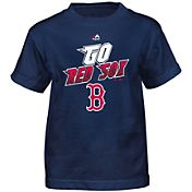 Majestic Boys' Boston Red Sox Loud Speakers Navy T-Shirt