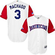 Majestic Men's Replica 2017 WBC Dominican Republic Manny Machado #3 Cool Base Jersey