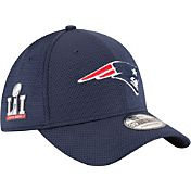 New Era Men's Super Bowl LI Bound New England Patriots Sideline Tech Patch 39Thirty Flex Hat