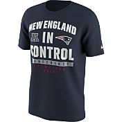Nike Men's AFC Champions New England Patriots In Control Navy T-Shirt